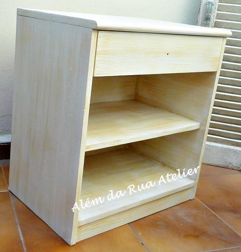 Pátina em móvel de madeira - Faça você mesmo