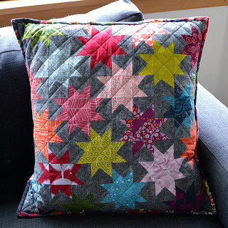 Modern She Made cushion