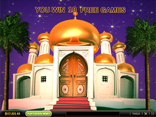 Sultan's Gold Free Spins Feature