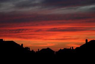 frisco texas sunset