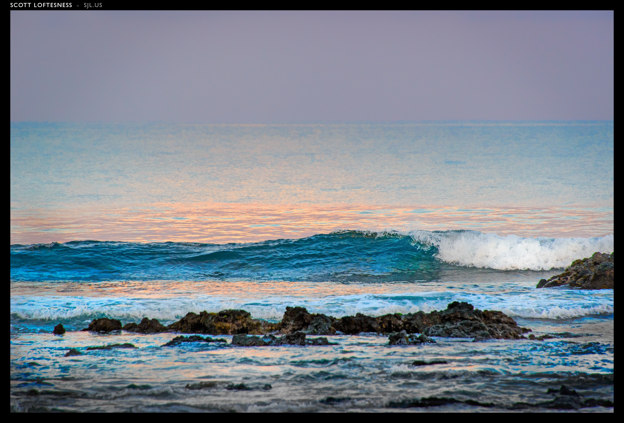 Sunrise Surf - Kona - 2013