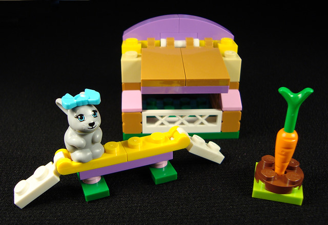 lego friends bunny hutch instructions