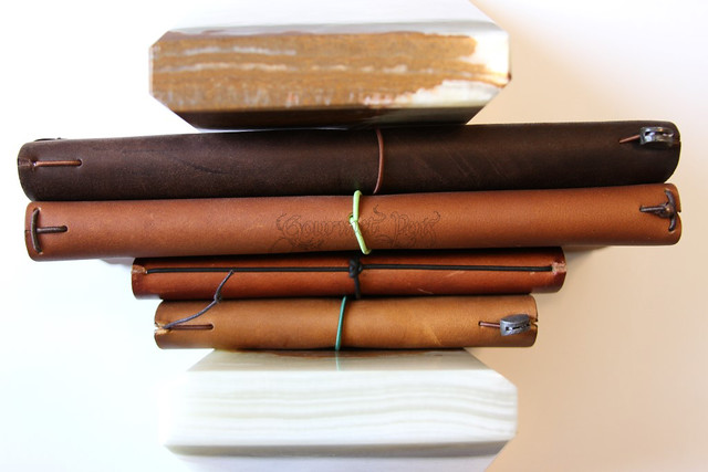 Midori TN, Pelle Large, Davis Leatherworks Cover & Midori Star TN
