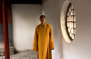 the monk obliges