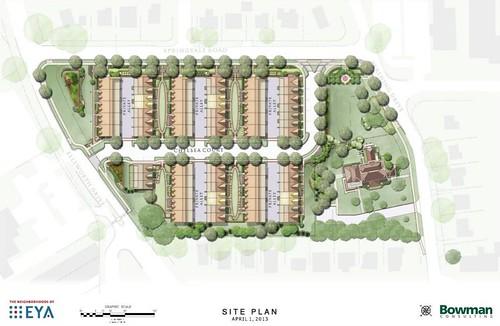 Site Plan, Chelsea Court