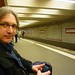 Jeremy in the U-Bahn by WordRidden