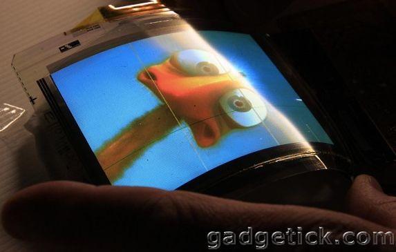 Смартфон с гибким дисплеем