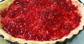 IMG_0955 Bakewell tart - raspberry jam