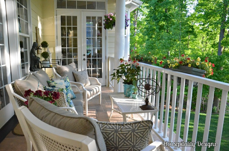 front porch sunroom ever so clever ever so pretty friday 8 porch makeover
