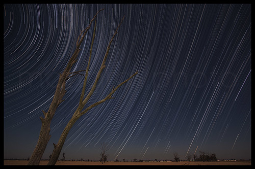 Startrails - Ganmain - New South Wales