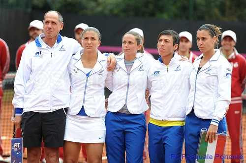 Tennis, Palermo: italiane ok in Fed Cup$