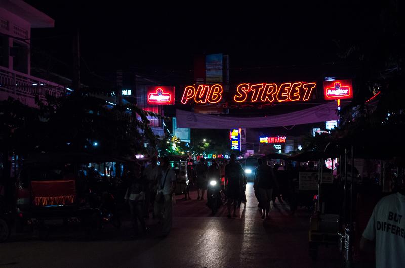 Pub Street - Cambodia - Nighttime