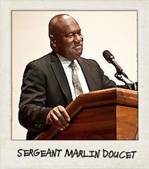 Sgt. Marlin Doucet
