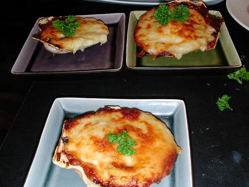 Scallops gratinee by rustumlongpig