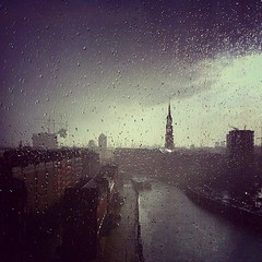 Drama, baby! #rainstorm