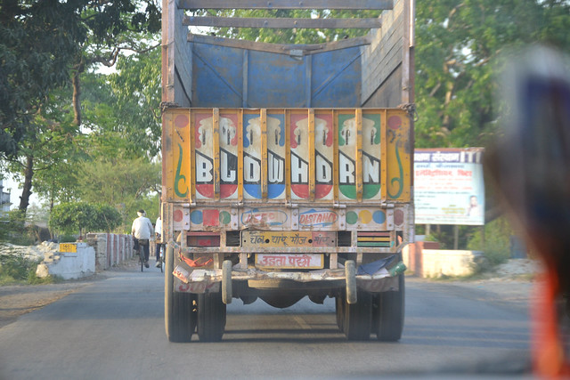 A picture of an Indian Truck