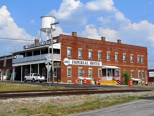 Imperial Hotel (2011 view) - Monterey, TN