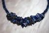 Spiral Rope Woven Bead Necklace