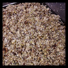 Making granola for tomorrow