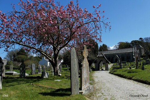 Gwennap Churchyard by Stocker Images