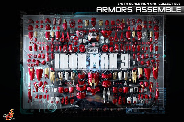 Armor Assemble Hot Toys