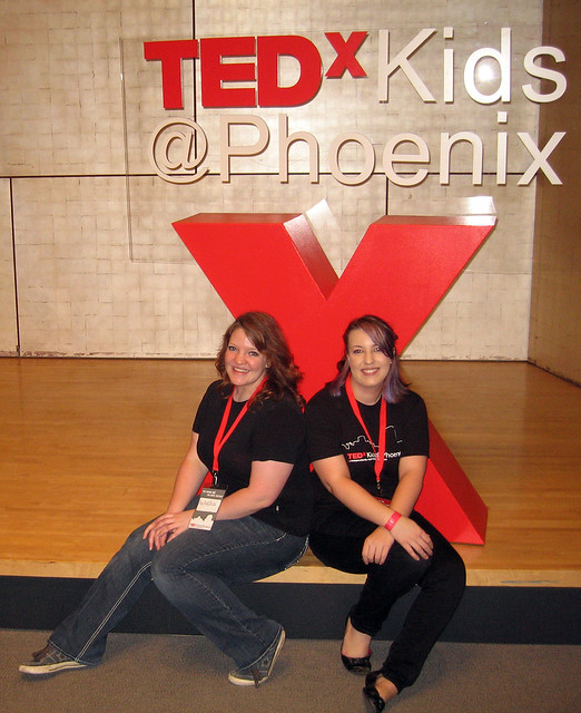 Natasha and I at TEDxKids@Phoenix