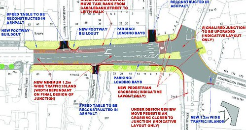 Leith Walk Foot of the Walk proposals