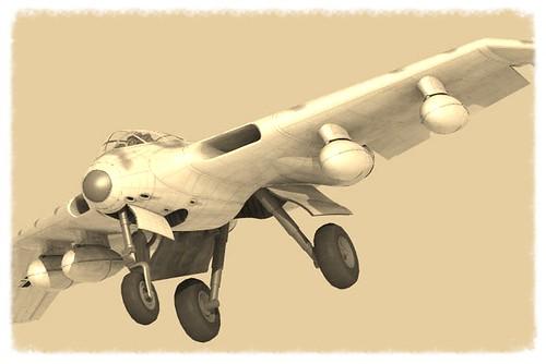 """Opération """"Kill the King"""" [ Arado Ar. E.555 Revell 1/72 ] 8706320586_fec36c748d"""