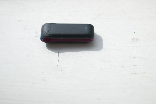 Fixed Fitbit - top down view