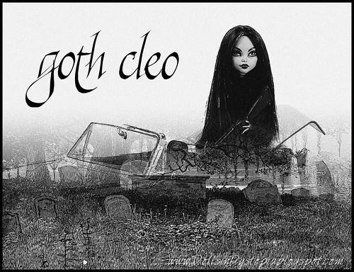 Goth Cleo by DollsinDystopia