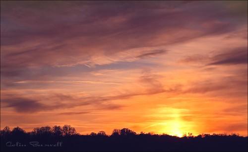sunset ngc oxfordshire blenheimpalace