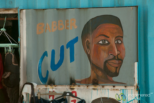Barber Shop in Masiphumelele Township - Cape Town