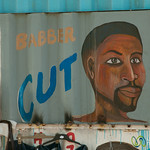 Barber Shop in Masiphumelele Township - Cape Town, South Africa