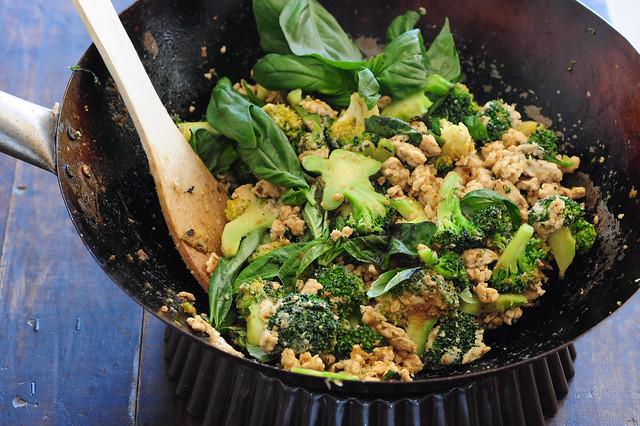 green curry stir fry