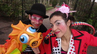 titeres Icabot - Circo DeLaNube