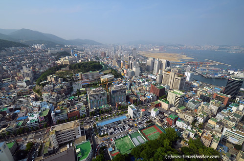 Panorama view of Busan
