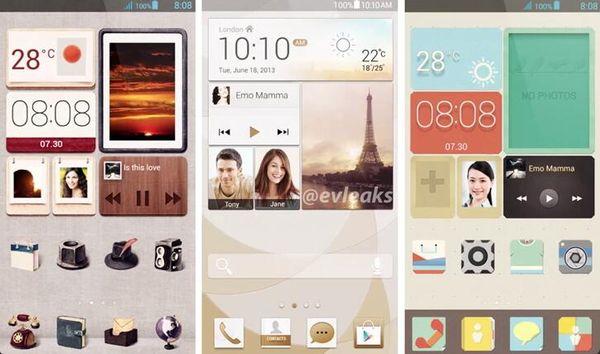 Emotion UI для Huawei Ascend P6