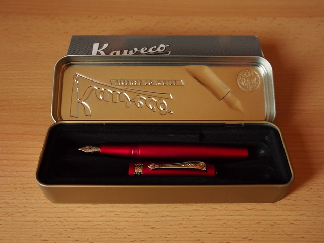 Kaweco Allrounder Red Fine Nib - Open Box