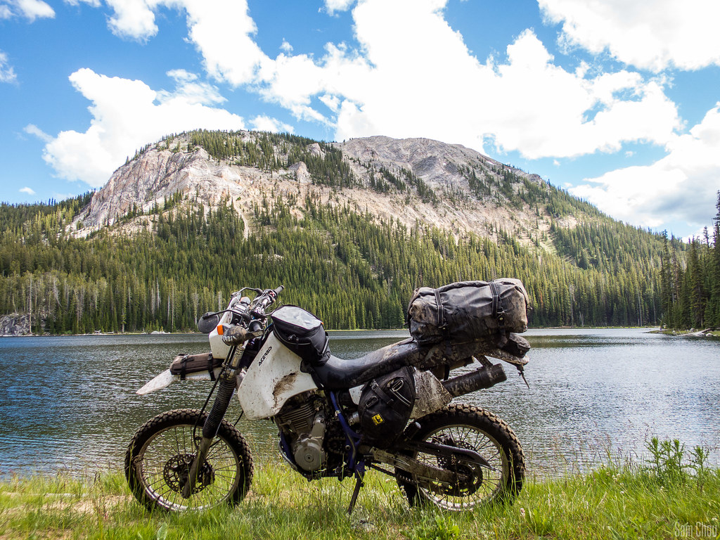 I built this bike as my do-it-all bike: ride 150 miles on the interstate to  get out of the hellhole steppe desert that I live in to get to the  mountains, ...