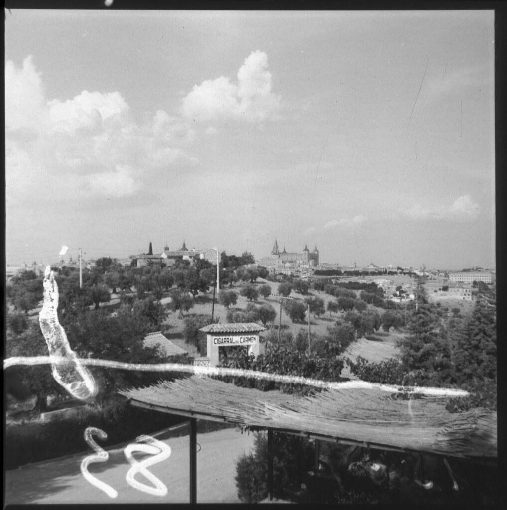 Cigarral del Carmen en los años 60. Fotografía de Cristóbal Portillo © Archivo Regional de la Comunidad de Madrid, fondo fotográfico
