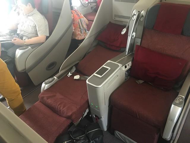 Cabine Business A330 Garuda
