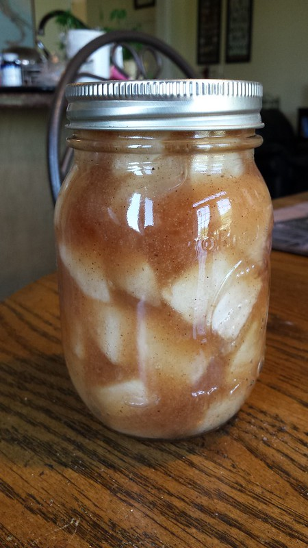 Roasted Apple Pie Filling