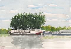 Barges at Bruges