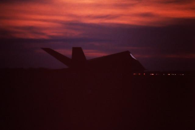 USAF F-117 Night Take Off
