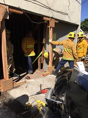 LAFD Teamwork Prevents Apartment Residents from Being Displaced