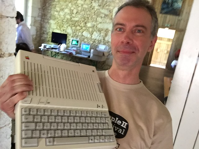 Apple II Festival France 2016 selfies