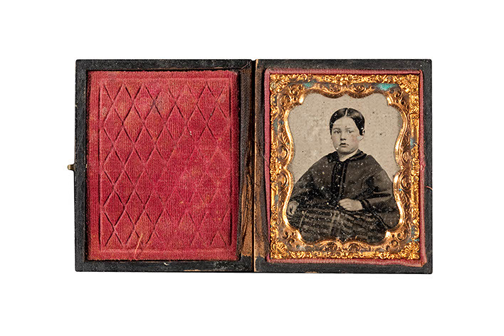 Ambrotype - Ruby Glass