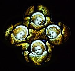 four cherubs by E J Prest, 1901