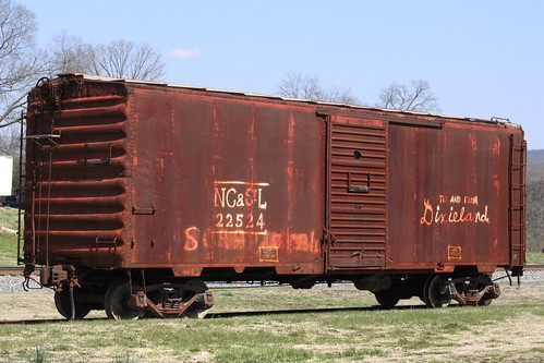 NC&StL Boxcar PS-1 No. 22524
