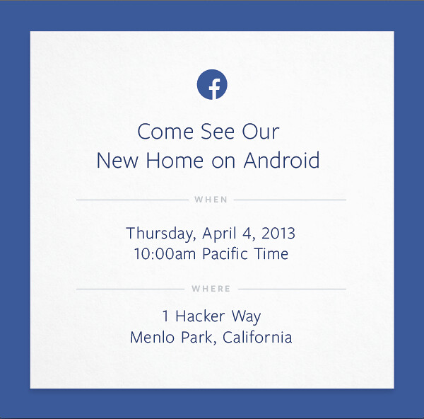 facebook android event